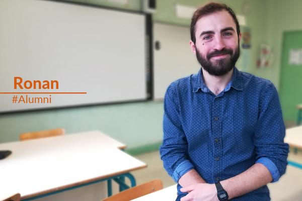Ronan, alumni Le Choix de l'école