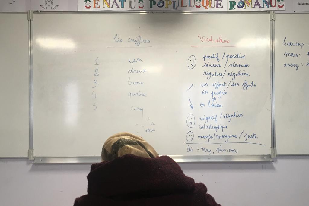 Ouvrir le collège aux parents pour les aider à apprendre le français