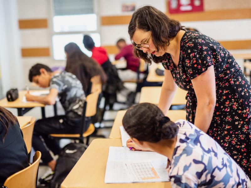 Université d'été 2020 Le Choix de l'école deux semaines avec des collégiens