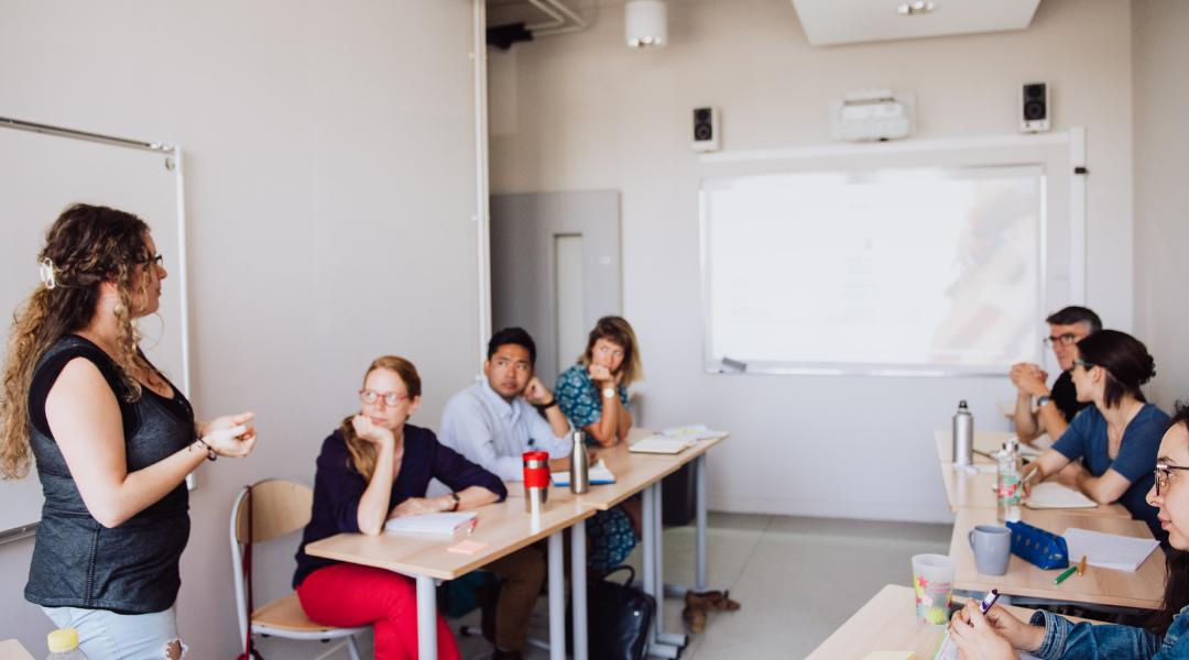 atelier sur la gestion de classe par un tuteur aux enseignants