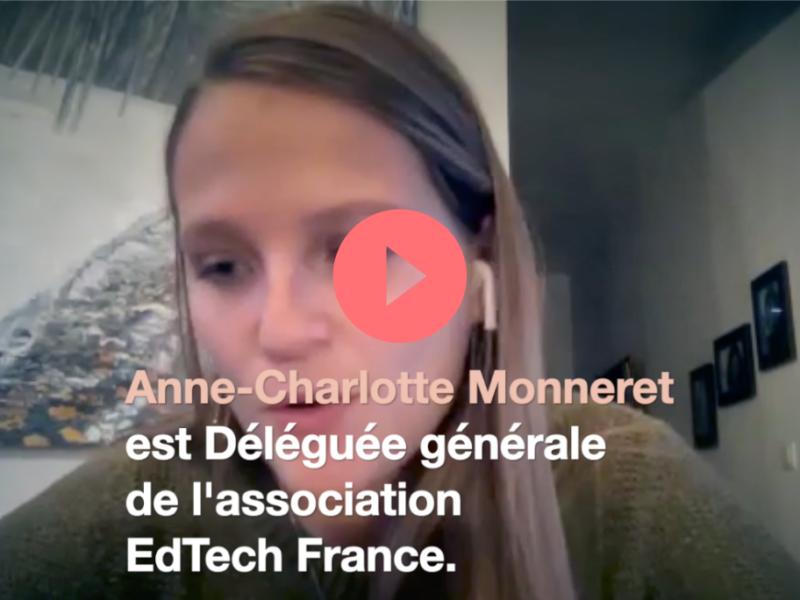 les technologies au service de l'éducation Anne-Charlotte Monneret