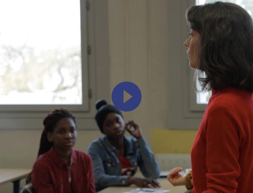 vidéo de présentation de l'association le choix de l'école