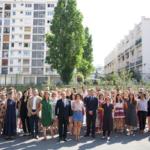 François Hollande, président de la Fondation la France s'engage, a échangé avec 55 futurs enseignants accompagnés par Le Choix de l'école pendant l'université d'été